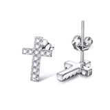 New Earrings European and American style Personality Cross Earrings Wholesale