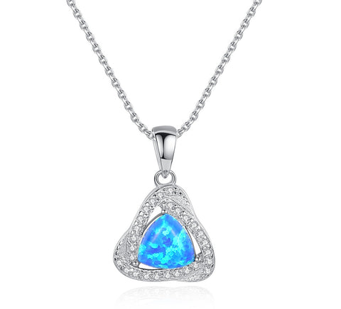 Birthstone cubic Zircon Heart Pendant S925 Sterling Silver Necklace for birthday gift