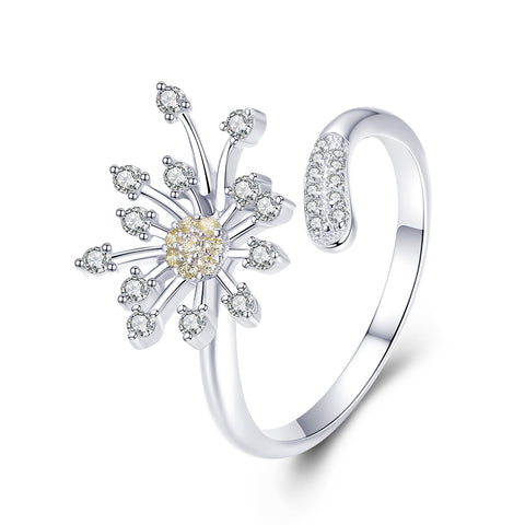 Dandelion Love Ring