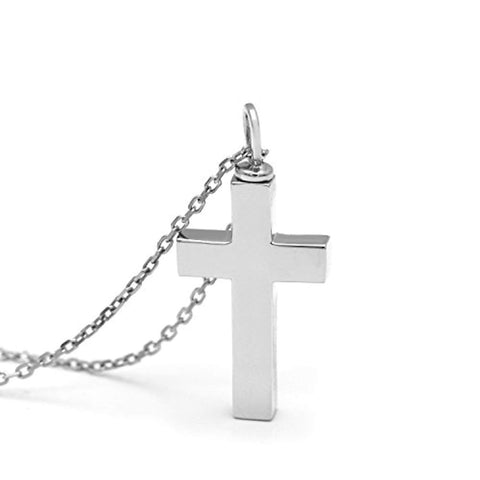 Urn Cross Necklace