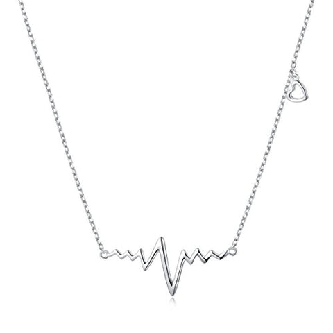 Heartbeat Love Cardiogram Necklace