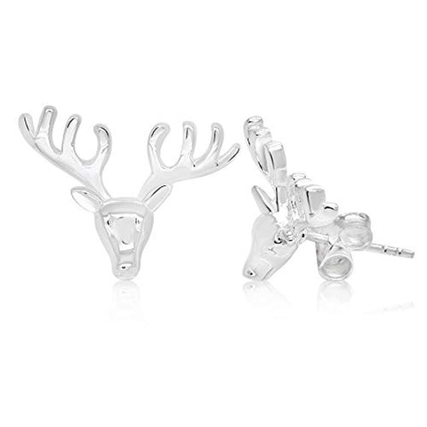 Cute Reindeer Stud Earrings