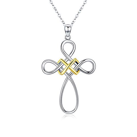 Celtic Knot Cross Necklace