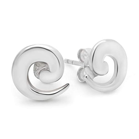 Spairal Stud Earrings