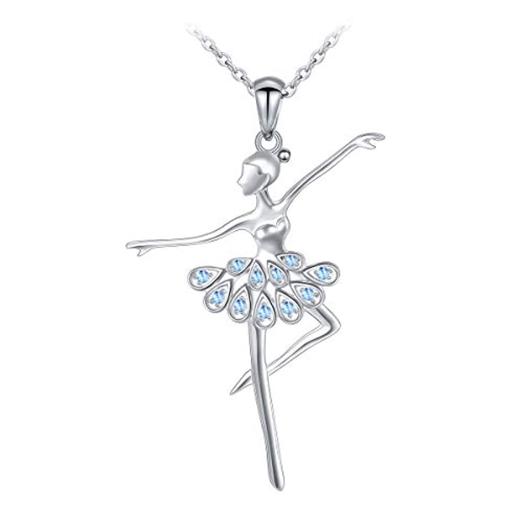 Ballet Dance Pendant Necklace