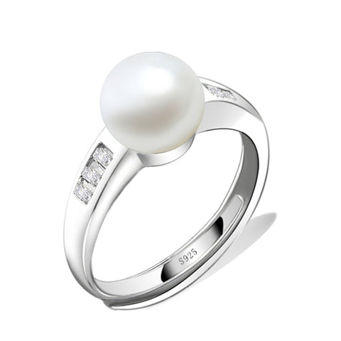 Simple Pearl Rings Wholesale Design Wedding Anniversary Jewelry Ring