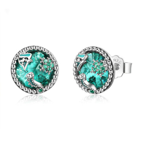 Ocean Tropical Fish Stud Earrings