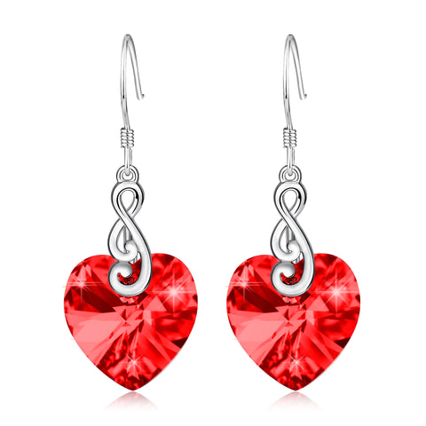 Engagement Wedding Party Crystal Gemstone Earrings Silver Wholesale
