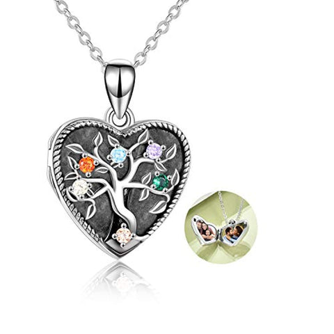 Oval Photo Locket Pendant Necklace