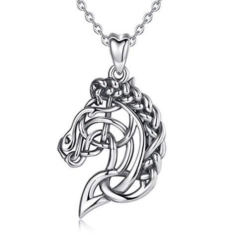 Celtic Horse Head Necklace