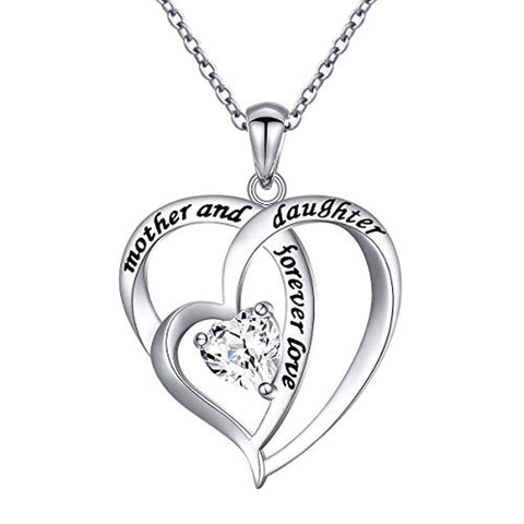 Mother and Daughter Forever Love Necklace