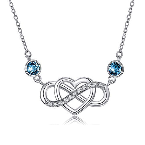Wholesale Infinity Heart Necklace