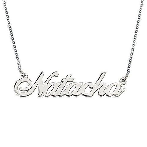 "Personalized  Name Necklace  16""-20"" Adjustable Chain"