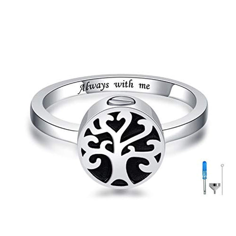 Tree of Life Cremation Rings
