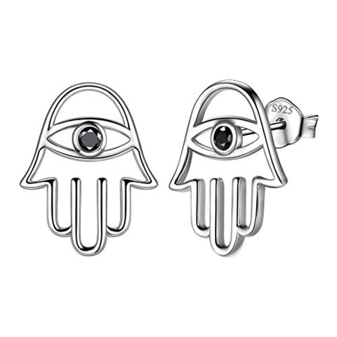 Tears Eye stud earring
