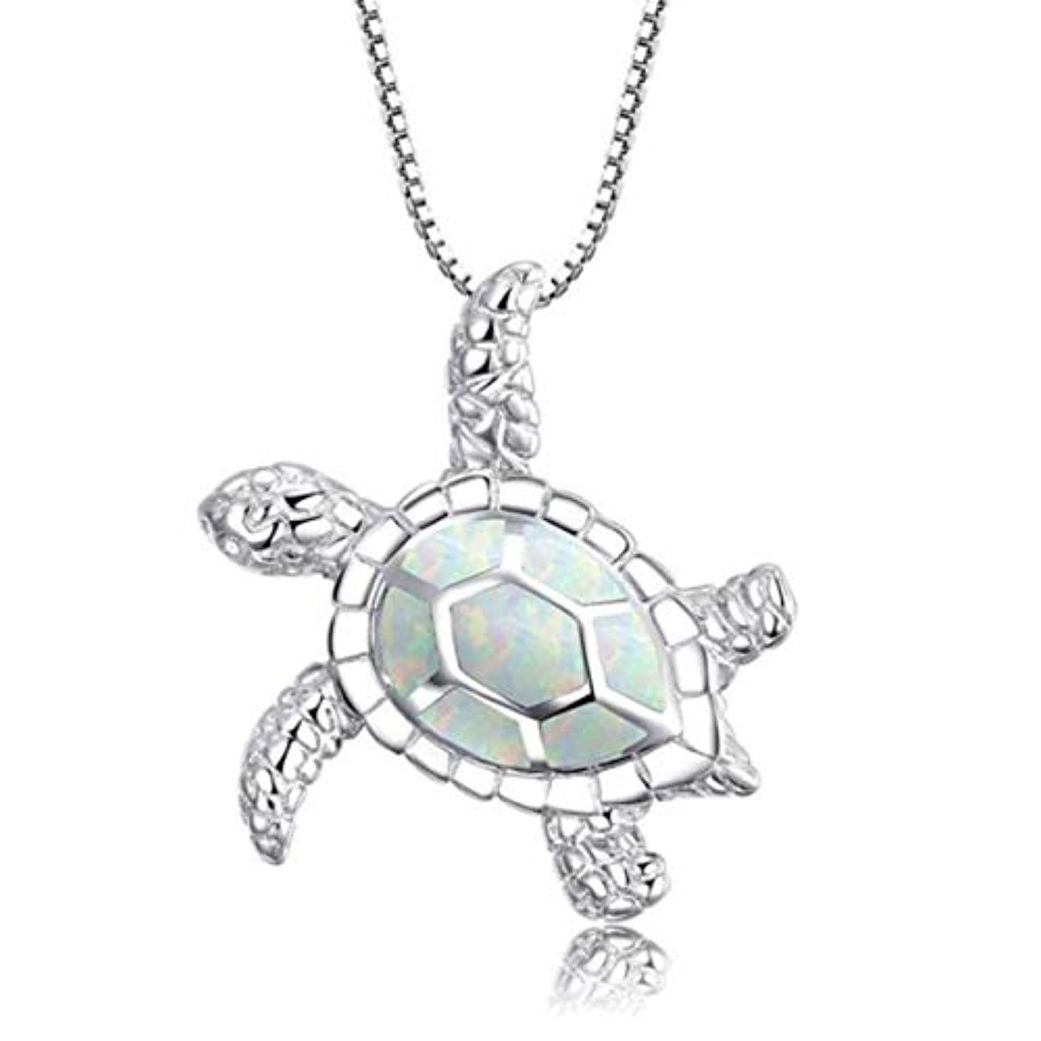 Cute Turtle Pendant Necklace
