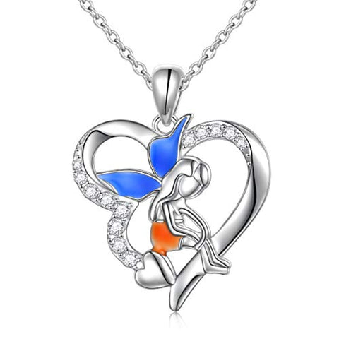Fairy Angel Wing Memorial Necklace