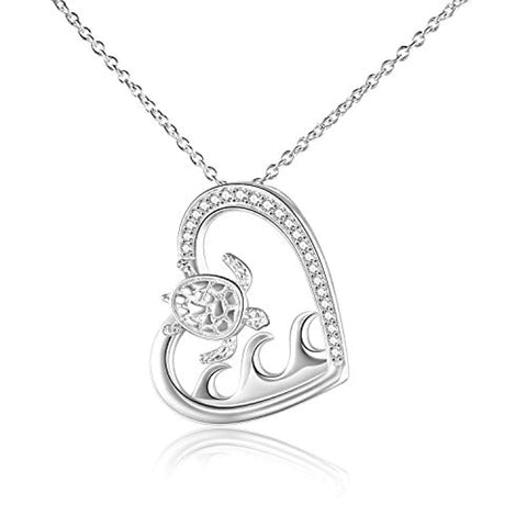 Sterling Silver S925 Animal Necklace for Women Birthday Jewelry Gifts