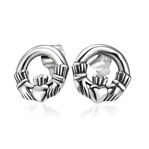 Love Symbol Stud Earrings