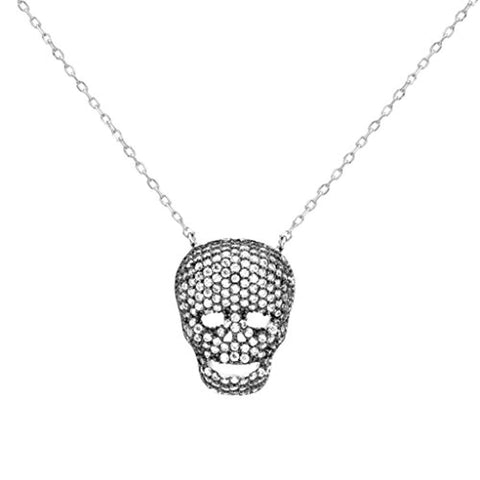 Skull Skeleton Chain Pendant