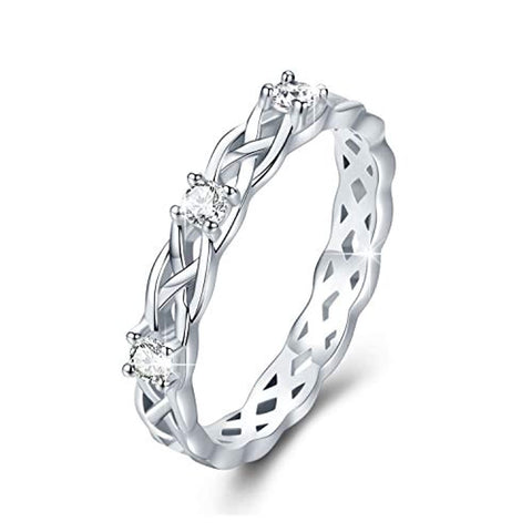 Silver Celtic Knot Rings