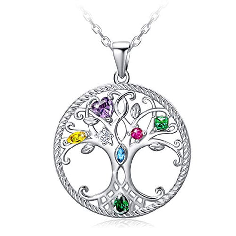 Celtic Knot Tree Pendant Necklace