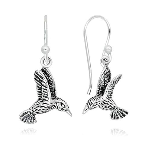 Hummingbird Dangle Earrings