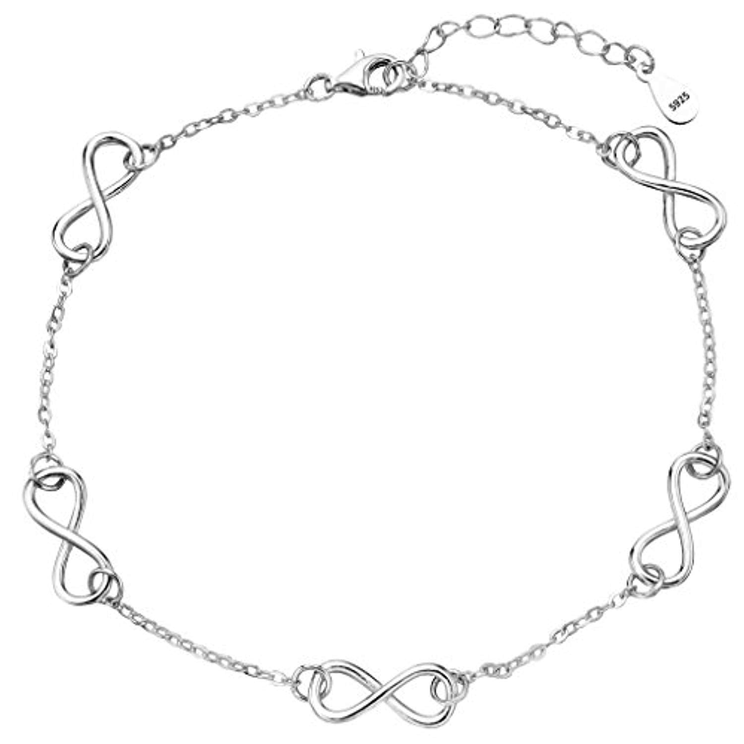 Infinity Adjustable Anklet