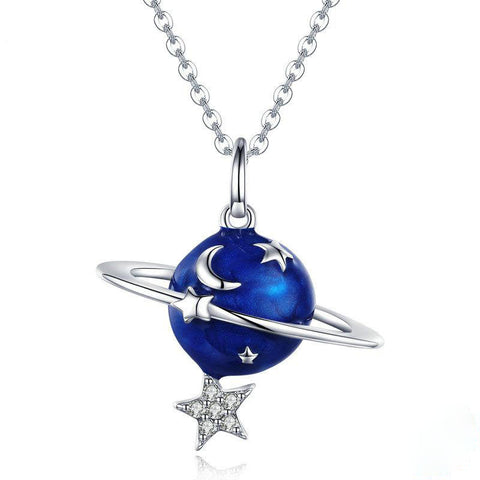 Secret Planet Moon Star Necklaces Pendants