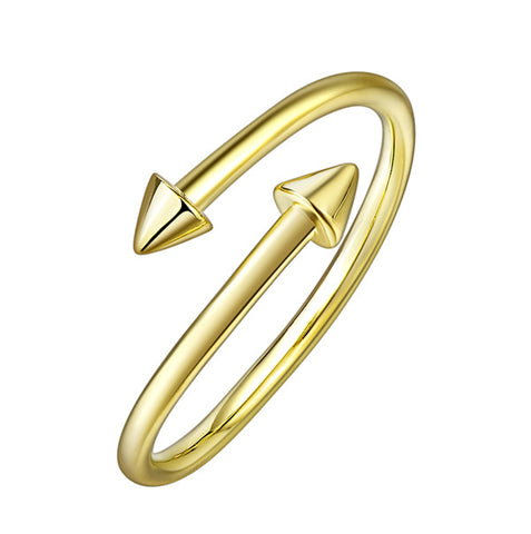 Opening Arrow Adjustable Rings Design Gold Jewelry 2019