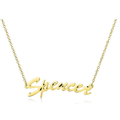16-20 inch personalized name necklace for birthday gift