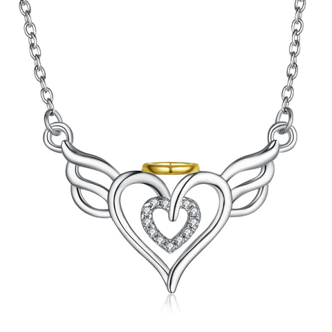 Angel Wings 2019 Latest Wholesale Jewelry Custom Personalized Necklace