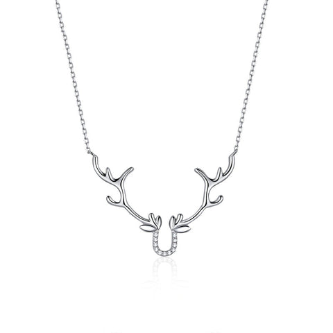 925 Sterling Silver Short Chain Necklace for Women lovely Animal Gift Jewelry