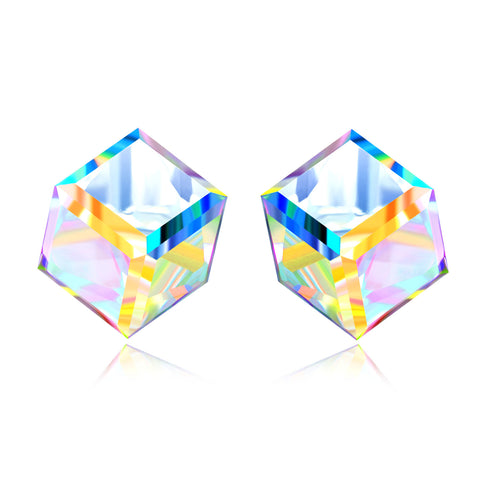 Colorful Gemstone 925 Sterling Silver Earrings Women Jewelry Design
