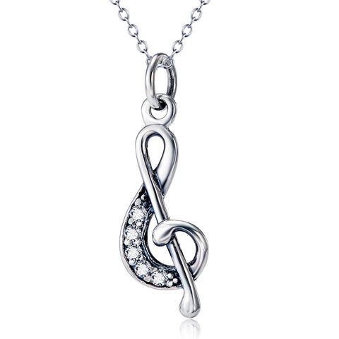 Classic Pendant Necklace Custome 925 Sterling Silver Necklace For Woman