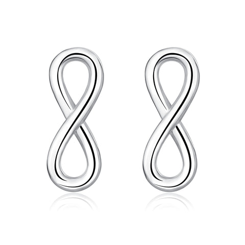 Eight Earrings Hot Selling Best Quality Small MOQ Silver Earrings