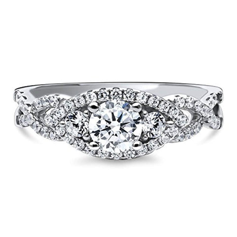 3-Stone  Promise Engagement Ring