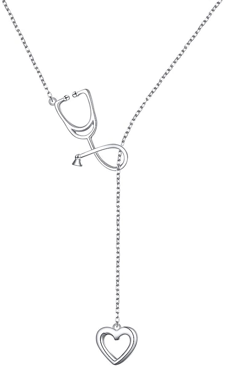 Adjustable Y Shaped Lariat Chain Necklace