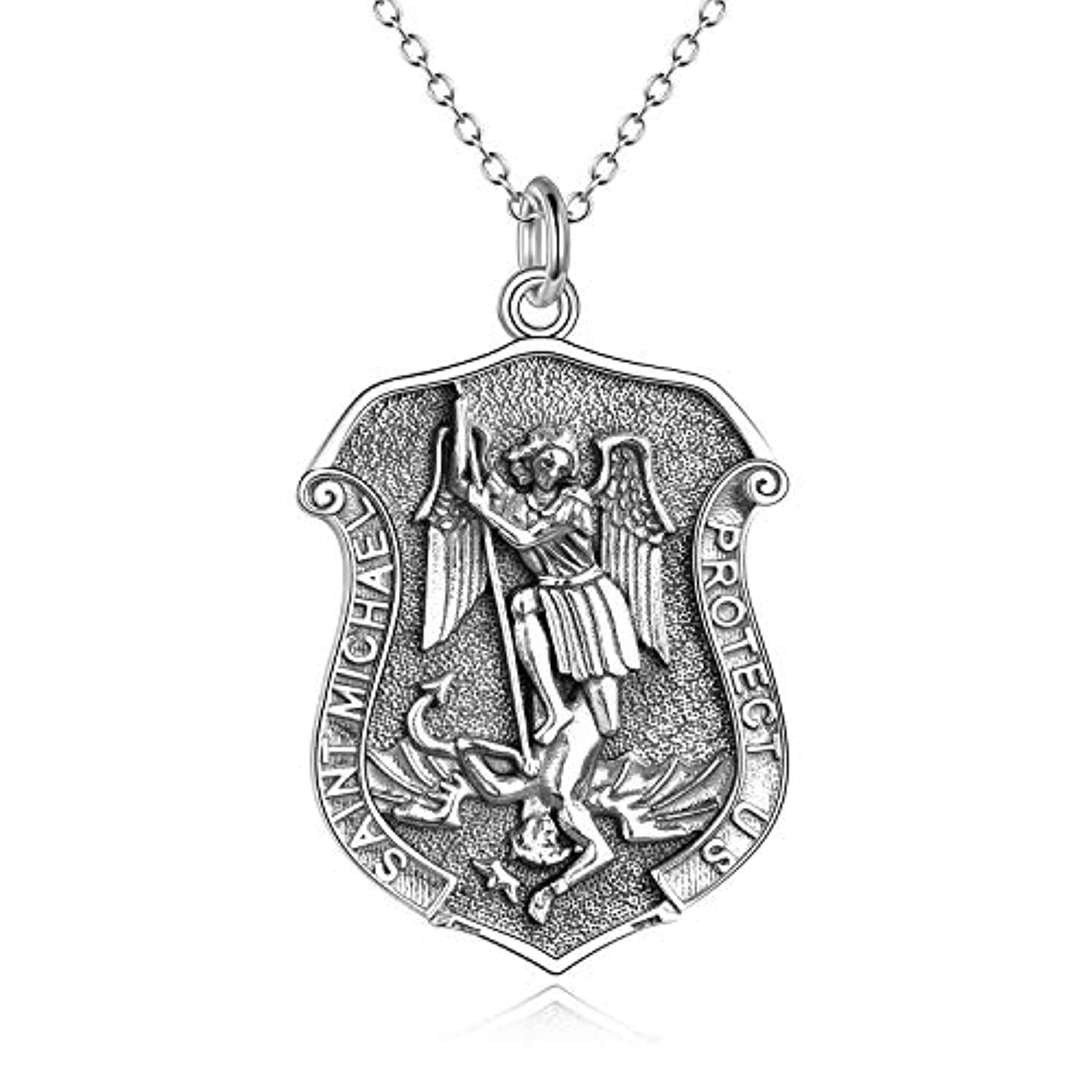 Saint Christopher Protect Pendant Necklace