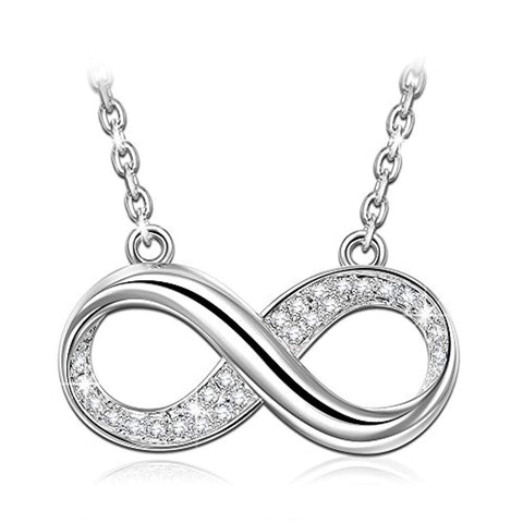 Silver Infinity Love Necklace
