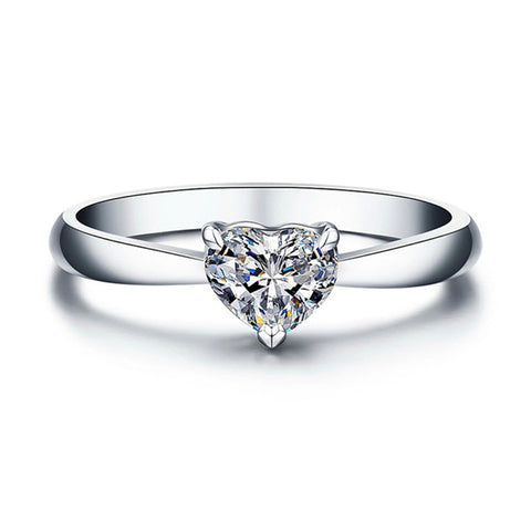 Simple Zirconia Gemstone Rings Design Lovely Engagement Ring