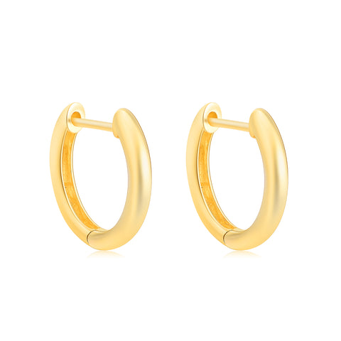18K Gold Fashion Earring Ins Wind Personality European And American Earring Fashion Female Earrings