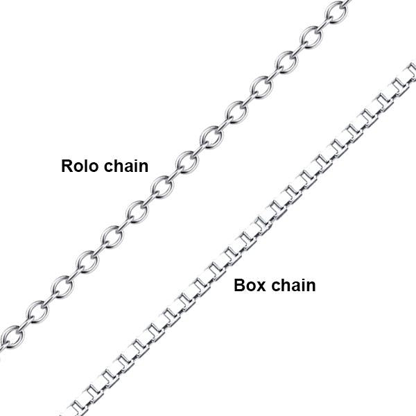Adjustable Chain Infinity Name Necklace -Plated Platinum