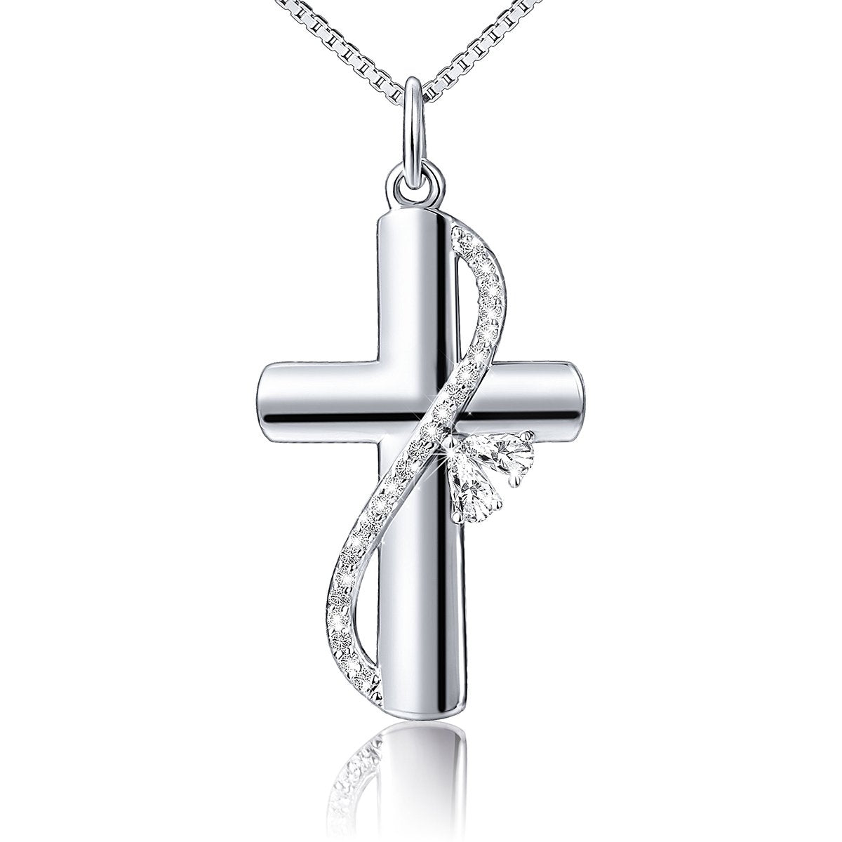 Faith Hope Love Cross Pendant