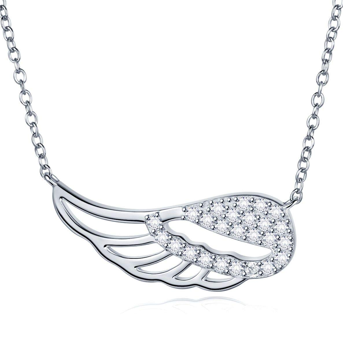 wing of angel Dainty Necklace