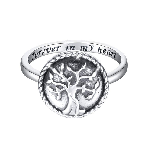 Heart Urn Memorial Ashes Keepsake Exquisite Cremation Ring