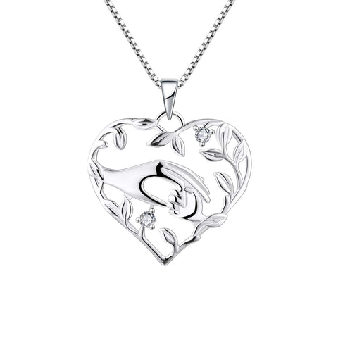 Love Mother and Daughter Pendant