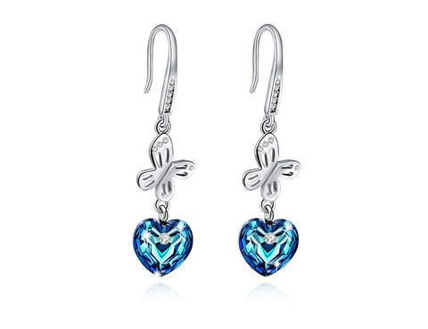 Butterfly Blue Crystal
