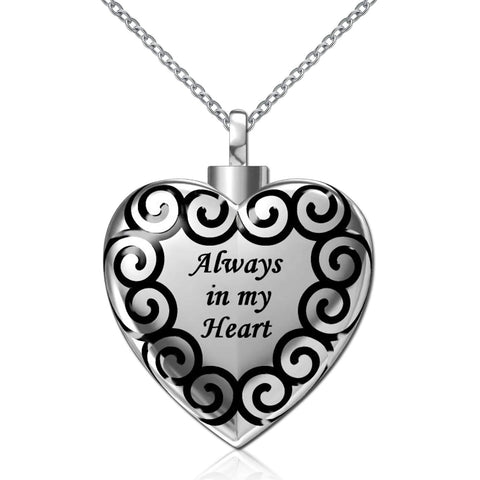 Heart Cremation Jewelry