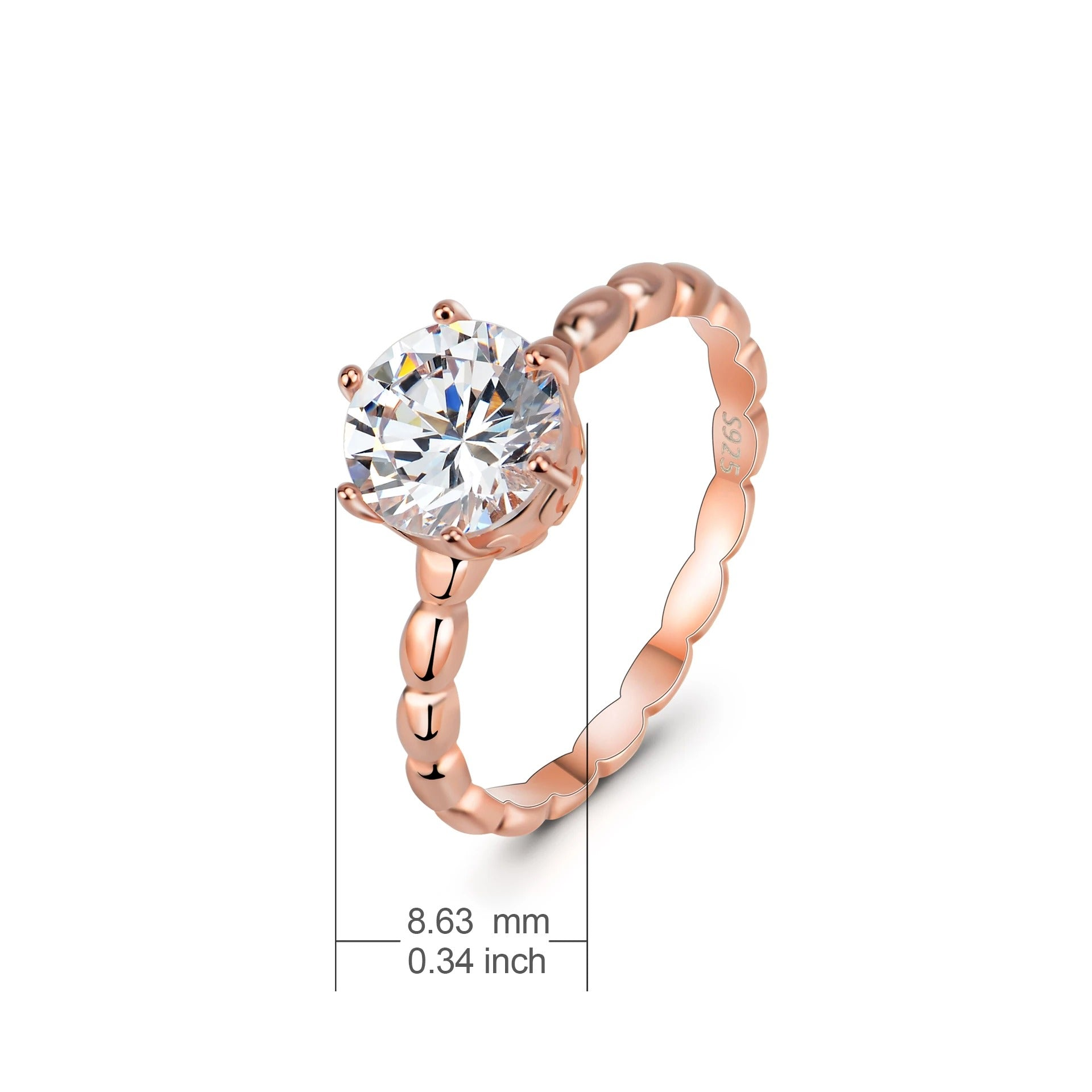 Temperature Wholesale Ring Western Jewelry Women Engagement Wedding Rings